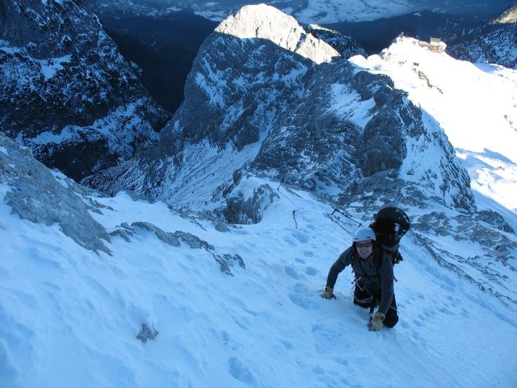 Alpspitze snowboard